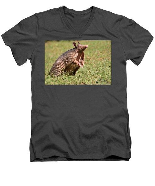 Sniffing The Air Men's V-Neck T-Shirt