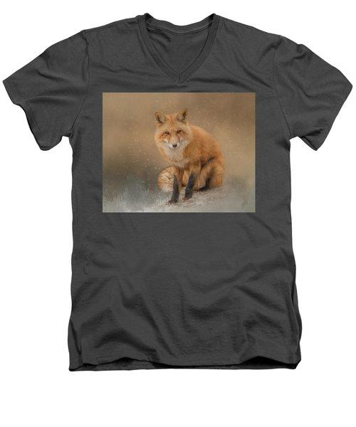 Snow Prince Men's V-Neck T-Shirt