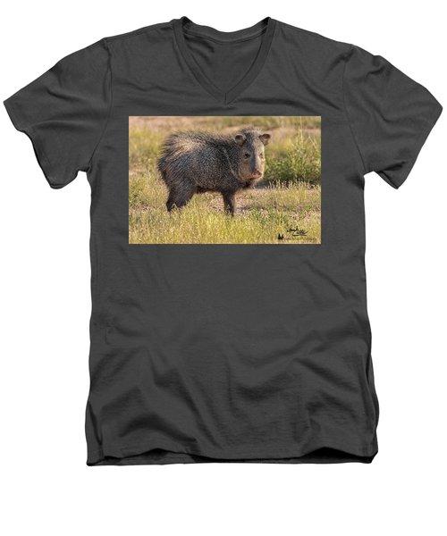 Solo Javelina Men's V-Neck T-Shirt