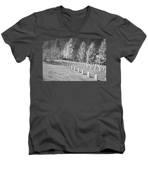 Somber Scene Men's V-Neck T-Shirt