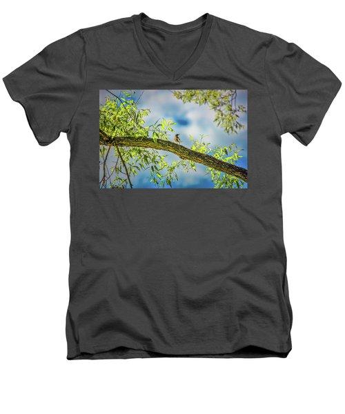 Someone Coming? #i2 Men's V-Neck T-Shirt