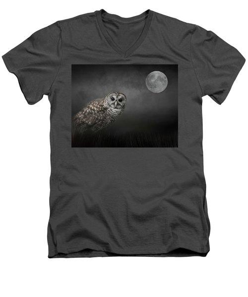 Soul Of The Moon Men's V-Neck T-Shirt