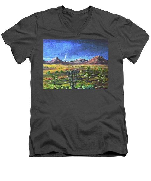 Southern Arizona Grandeur  Men's V-Neck T-Shirt