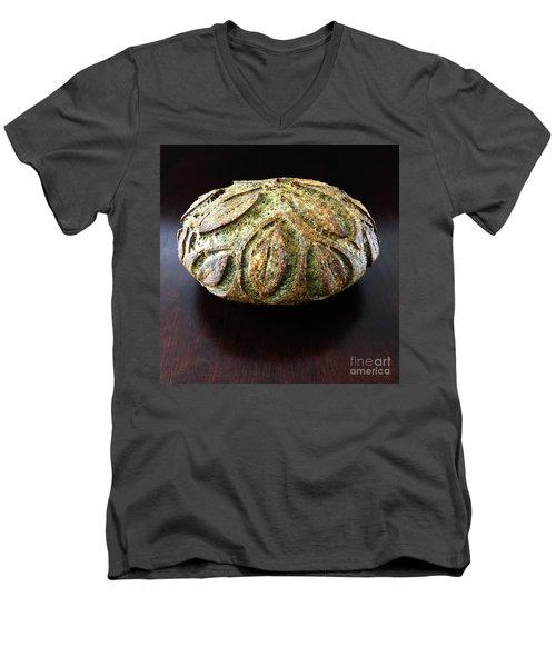 Spicy Spinach Sourdough 2 Men's V-Neck T-Shirt