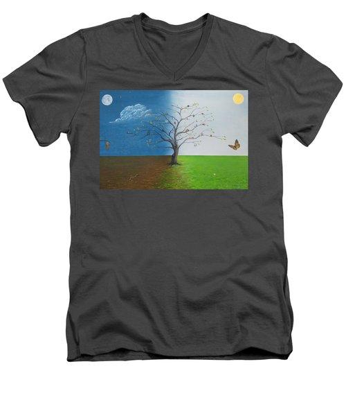 Spirit Of Eden Men's V-Neck T-Shirt
