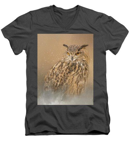 Spirit Of The Snow  Men's V-Neck T-Shirt