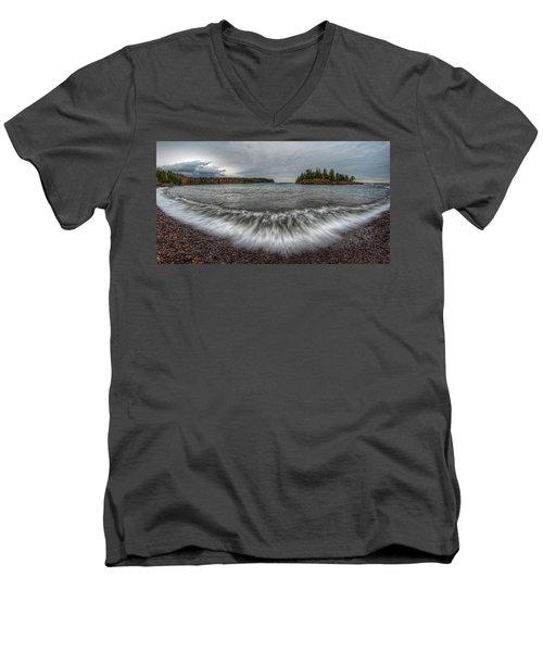Split Rock Lighthouse State Park Men's V-Neck T-Shirt