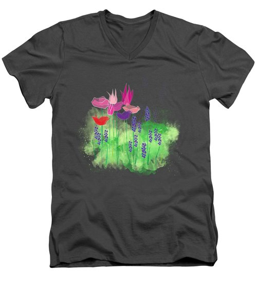 Springy Men's V-Neck T-Shirt