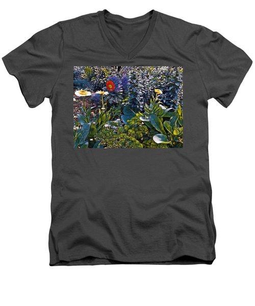 Sprint Into Spring Men's V-Neck T-Shirt