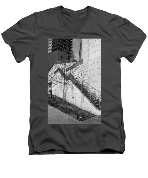 Stairs Up The Side Men's V-Neck T-Shirt
