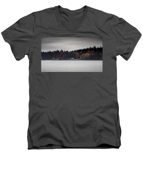 Stanley Park Vancouver Men's V-Neck T-Shirt