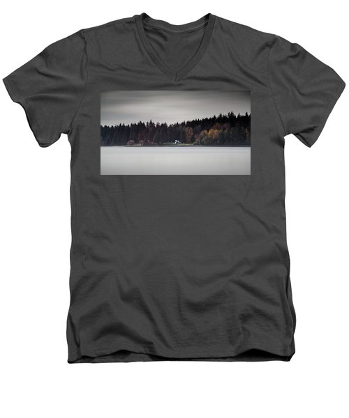 Stanley Park Vancouver Men's V-Neck T-Shirt