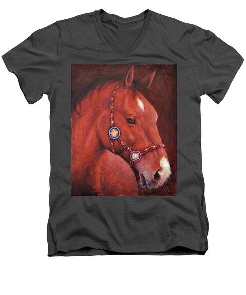 Star Dancer Men's V-Neck T-Shirt