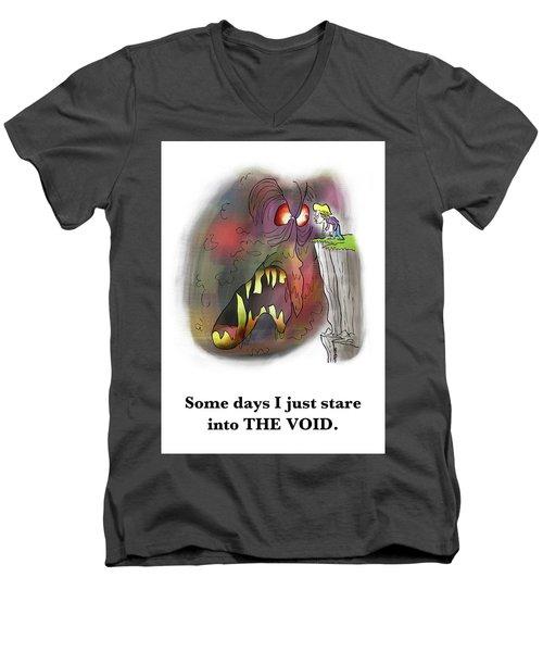 Staring Into The Void Men's V-Neck T-Shirt