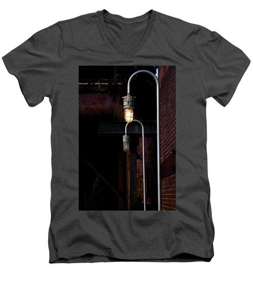 Steel City Lights Men's V-Neck T-Shirt