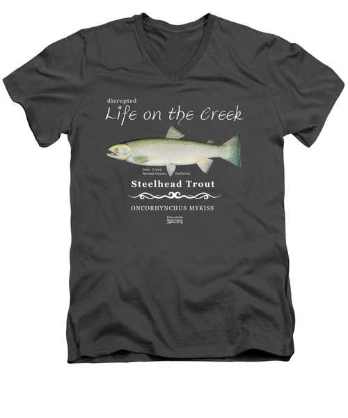 Steelhead Trout Men's V-Neck T-Shirt