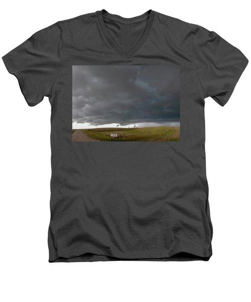 Storm Chasin In Nader Alley 016 Men's V-Neck T-Shirt