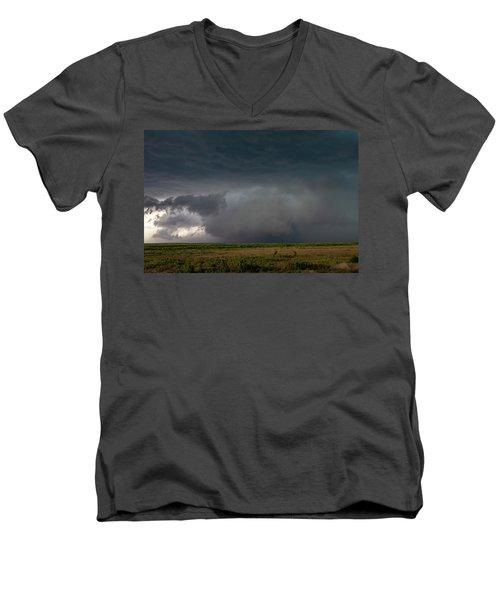 Storm Chasin In Nader Alley 030 Men's V-Neck T-Shirt