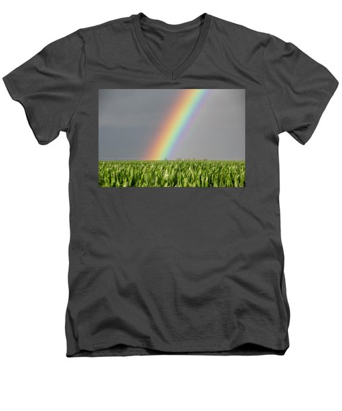 Storm Chasing After That Afternoon's Naders 023 Men's V-Neck T-Shirt