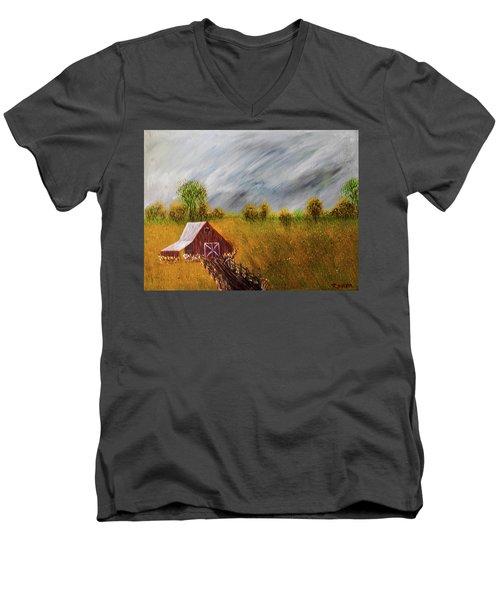 Storm Coming Men's V-Neck T-Shirt