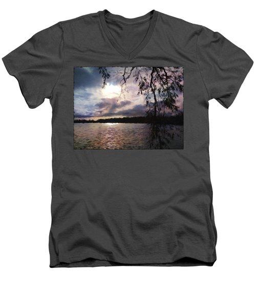 Storm Light Men's V-Neck T-Shirt