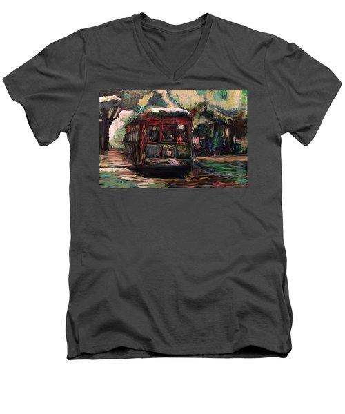 Streetcar  Men's V-Neck T-Shirt