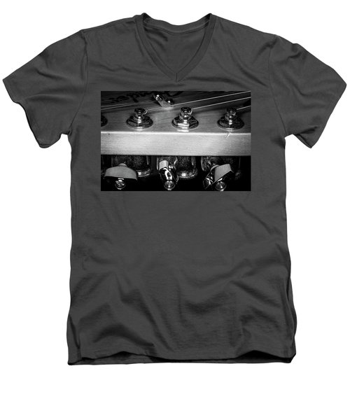 Men's V-Neck T-Shirt featuring the photograph Strings Series 11 by David Morefield