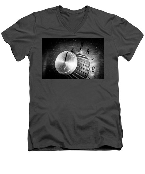 Men's V-Neck T-Shirt featuring the photograph Strings Series 21 by David Morefield