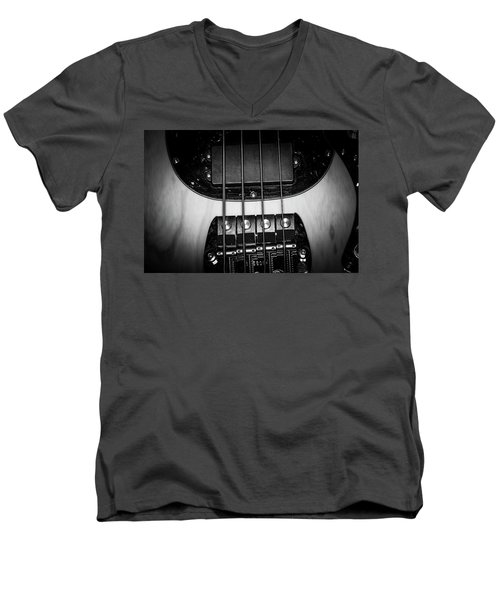 Men's V-Neck T-Shirt featuring the photograph Strings Series 25 by David Morefield