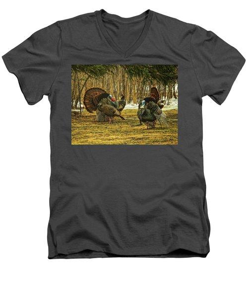 Strutters And Hens Men's V-Neck T-Shirt