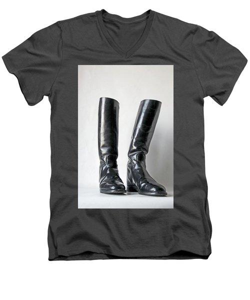 Studio. Riding Boots. Men's V-Neck T-Shirt