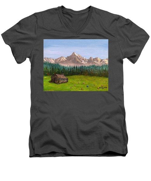 Stump Men's V-Neck T-Shirt