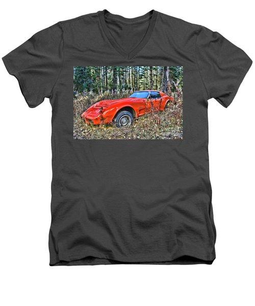 Stung Men's V-Neck T-Shirt