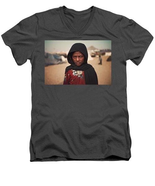 Suman Men's V-Neck T-Shirt