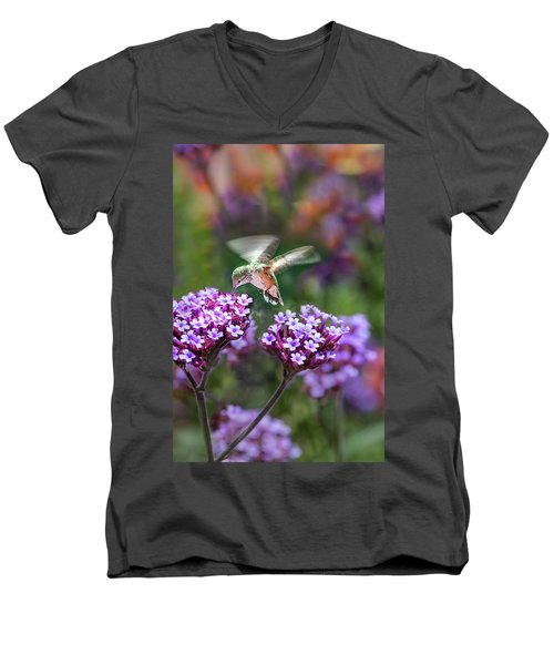 Summer Colors Men's V-Neck T-Shirt