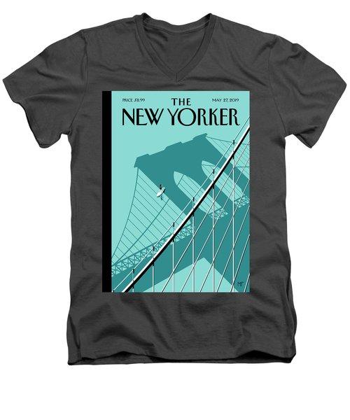 Summer Hours Men's V-Neck T-Shirt