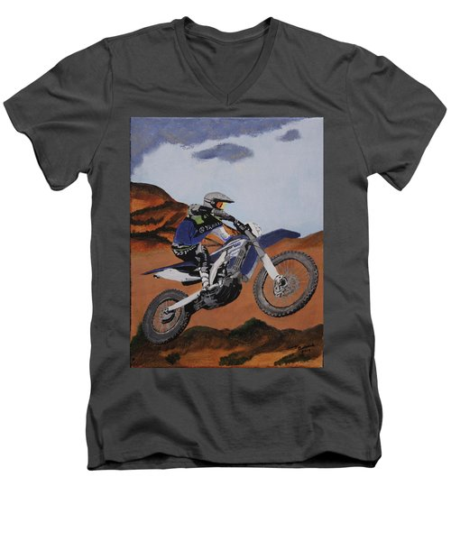 Summer Ride 2 Men's V-Neck T-Shirt