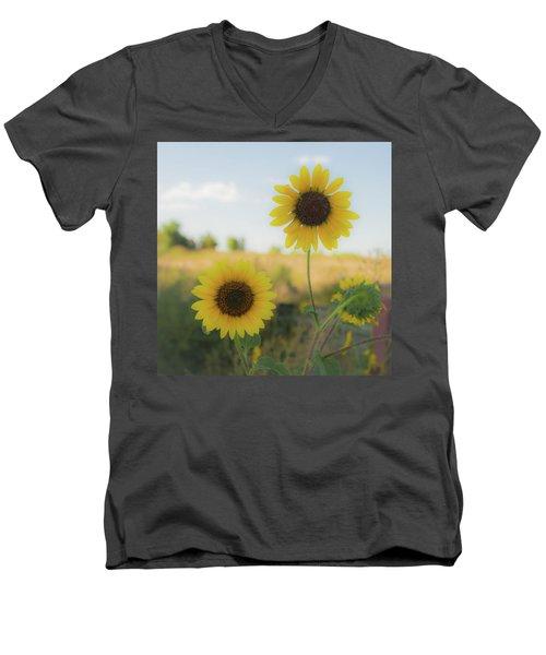 Summer Softness Men's V-Neck T-Shirt