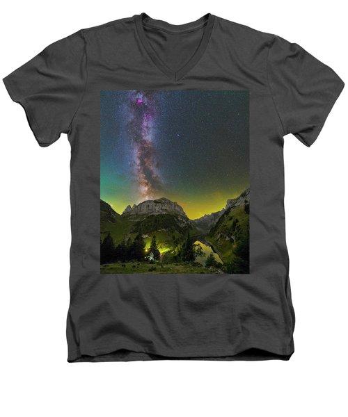 Summer's End Men's V-Neck T-Shirt