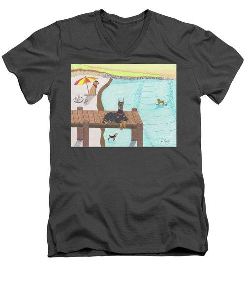 Summertime Fun Men's V-Neck T-Shirt