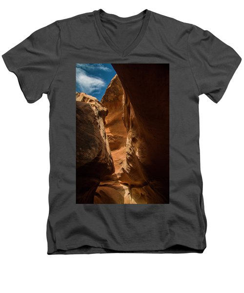 Sun And Shadow Men's V-Neck T-Shirt