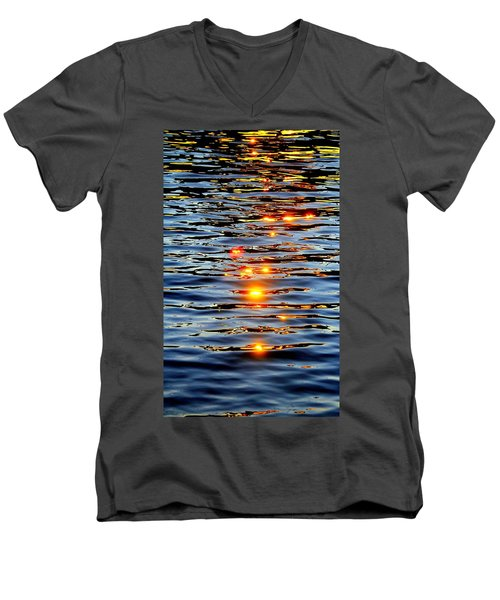 Sun Drops Men's V-Neck T-Shirt