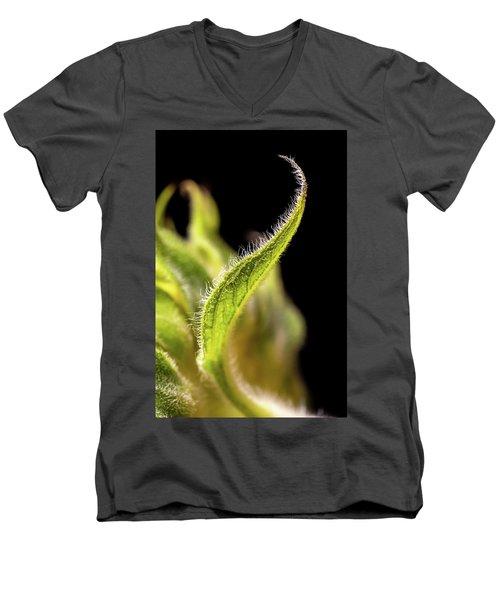 Sunflower Leaf Men's V-Neck T-Shirt