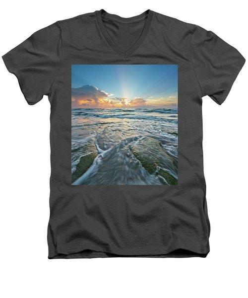 Sunrise Sunbeams Men's V-Neck T-Shirt