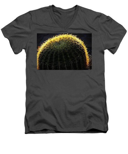 Sunset Cactus Men's V-Neck T-Shirt