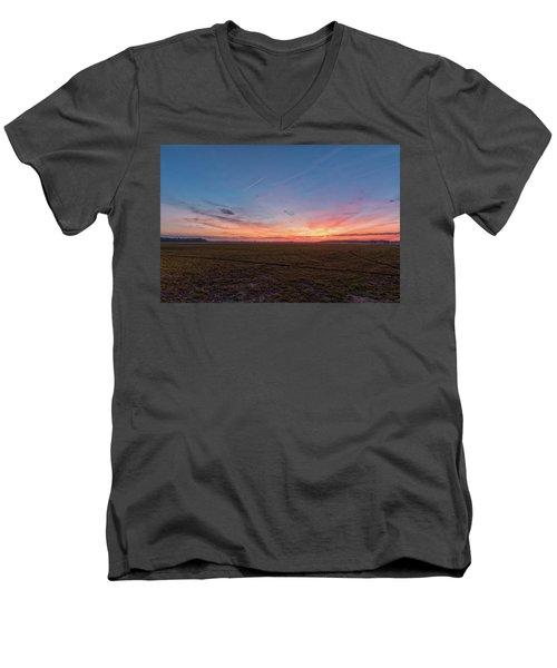 Sunset Pastures Men's V-Neck T-Shirt