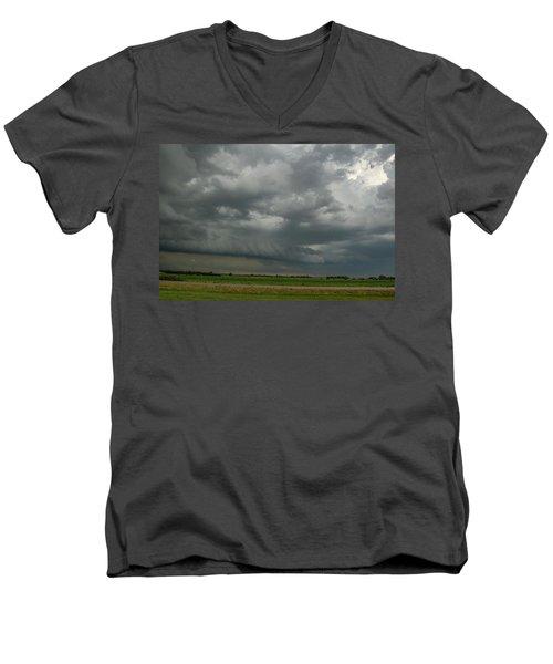 Supercells In Nebraska 049 Men's V-Neck T-Shirt