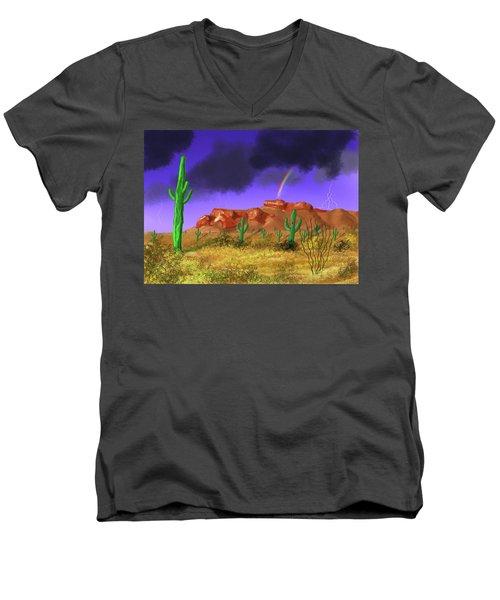 Superstition Splendor Men's V-Neck T-Shirt