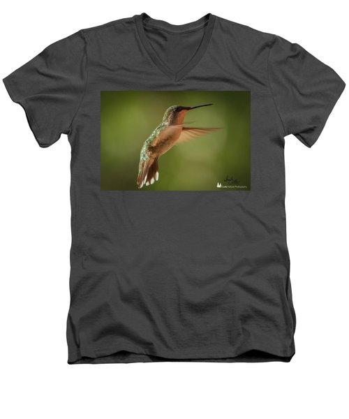 Suspended Men's V-Neck T-Shirt