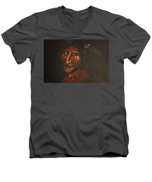 Suspicion Or Uncertainty Men's V-Neck T-Shirt